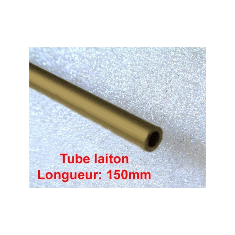 Tube laiton Int.3mm  Ext.4mm